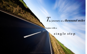 journey of 1000 miles